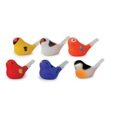 Bird Whistle Figurine (Set of 3)