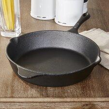 """Wayfair Basics Cast Iron 12"""" Non-Stick Frying Pan"""