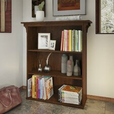 Aspen 3 Shelf 42 Standard Bookcase by Loon Peak