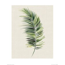 'Tropical Leaf II' Painting Print