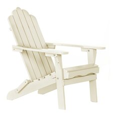 Poly Recycled Plastic Folding Adirondack Chair