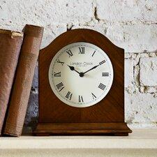 Break Arch Wooden Mantel Clock