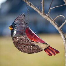 Cardinal Seed Decorative Bird Feeder