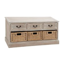 3 Drawer Wood Low Accent Chest by Cole & Grey