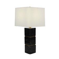 "Marble Metal 27"" Table Lamp"