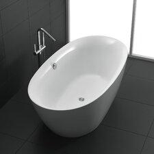 Adze Series 70.8'' x 35.4'' Freestanding Soaking Bathtub by ANZZI