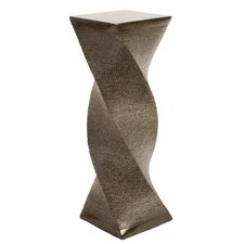 Twisted Terrazzo Concrete Pedestal