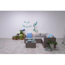 Montana Lounge Sectional Sofa Set with Cushions