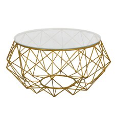 Diamond Wire Coffee Table by Fashion N You by Horizon Interseas