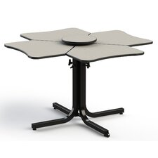Butterfly Wheelchair Accessible Extendable Dining Table