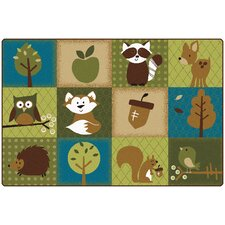 Nature's Friends Toddler Area Rug