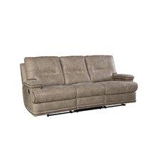 Camron Manual Taupe Motion Reclining Sofa