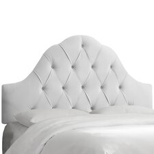 Sholto Arched Upholstered Panel Headboard