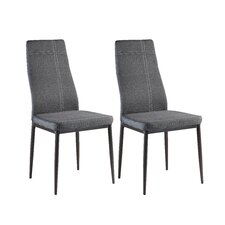 Calanthe Modern Upholstered Dining Chair (Set of 4)