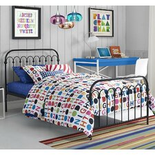 Bright Pop Platform Bed