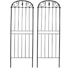 Traditional Steel Gothic Trellis (Set of 2)