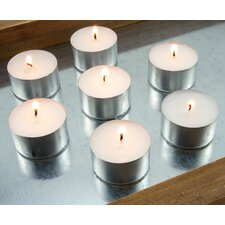 Long Burning Unscented Tealight Candle (Set of 100)