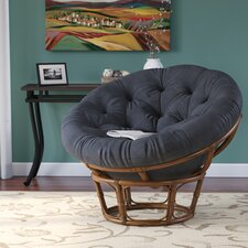 Newark Rattan Papasan Chair
