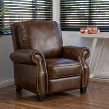 Mullins Faux Leather Recliner