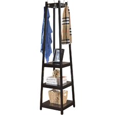 3-Tier Storage Shelve Coat Rack