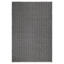 Estate Veria Hand-Woven Black/White Indoor/Outdoor Area Rug