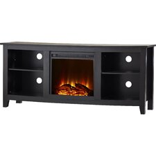 """Sunbury 58"""" TV Stand with Electric Fireplace"""