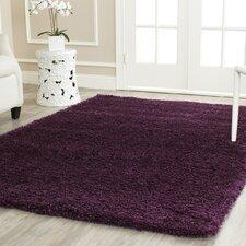 great ashford shag purple area rug with fuzzy rugs