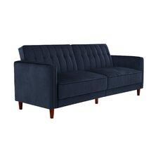 Clara Pin Tufted Convertible Sofa