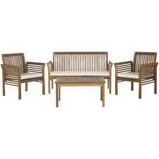 Stoneford 4 Piece Seating Group with Cushion