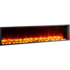 "Belden 63"" Built-in LED Wall Mount Electric Fireplace Insert"