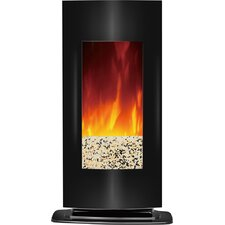 Aleigha Wall Mount Electric Fireplace
