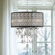Marelle 4-Light Drum Chandelier