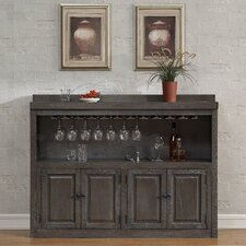 Salicaire Bar with Wine Storage