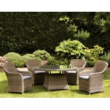 Wentworth 4 Seater Dining Set with Cushions