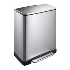 E-Cube Recycle 46L Step-On Bin