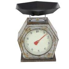 Vintage Metal Mechanical Kitchen Scale