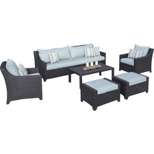 Northridge Estate Patio 20 Piece Deep Seating Group with Cushion