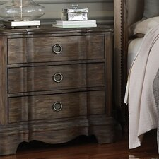 Osullivan 3 Drawer Nightstand by One Allium Way