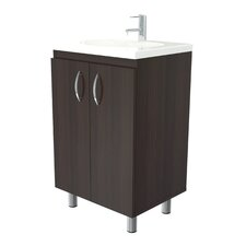 "Casto 18"" Single 2 Door Vanity Set"