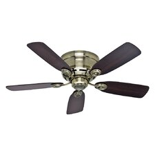 "42"" Black Raven 5 Blade Ceiling Fan"