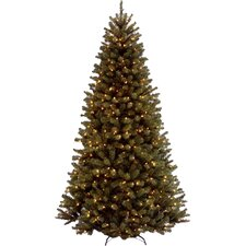 9' Spruce Artificial Christmas Tree with 700 Clear Lights