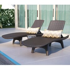 Clarita Chaise Lounge (Set of 2)