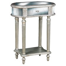 Rosella Mirrored End Table by House of Hampton