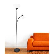 """Nahla 71.37"""" Torchiere Floor Lamp"""