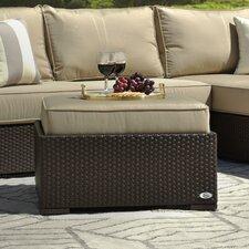 Laguna Outdoor Ottoman with Cushion