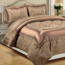 Betty Jacquard 3 Piece Bedspread Set