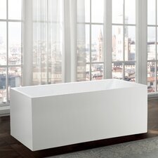 Catania 67 x 32 Freestanding Soaking Bathtub by Bellaterra Home