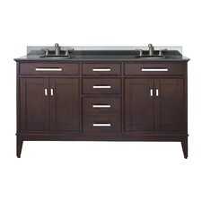 Chesterville 61 Double Bathroom Vanity Set by Red Barrel Studio