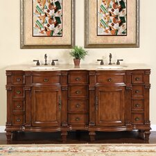 Hartell 72 Double Bathroom Vanity Set by Astoria Grand