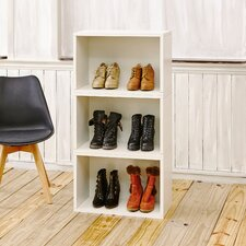 "Andrade Stackable Rectangle Plus 16"" Cube Unit Bookcase"